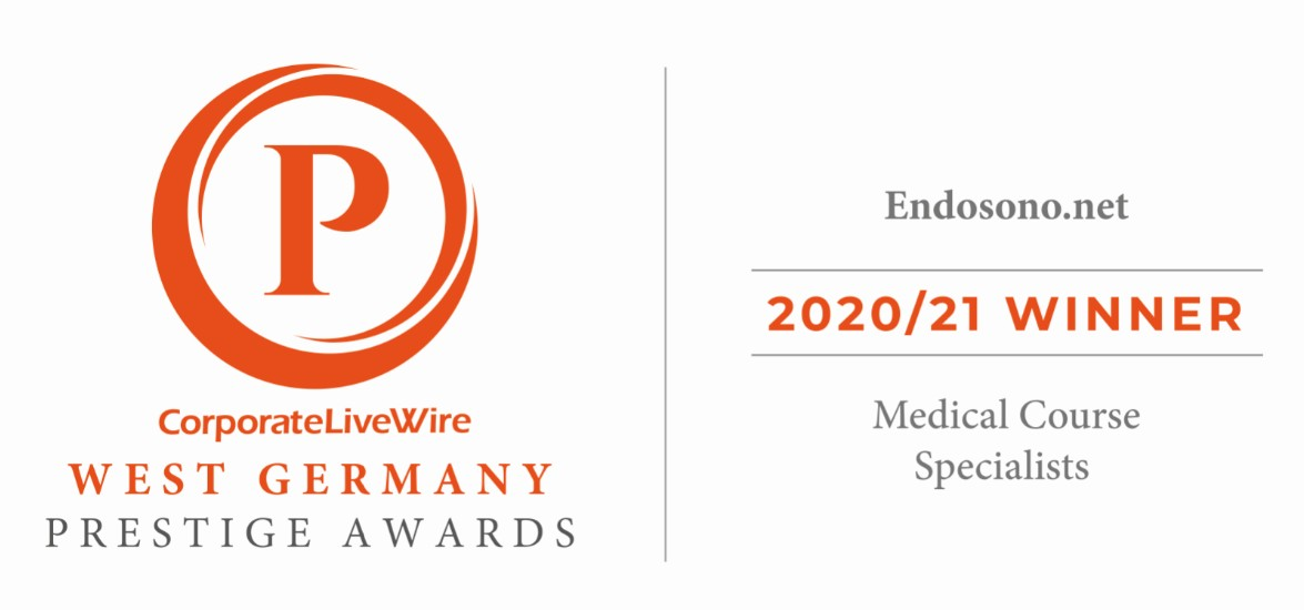 Winner West Germany Prestige Awards - Corporate LiveWire - Medical Course Specialist 2020/21